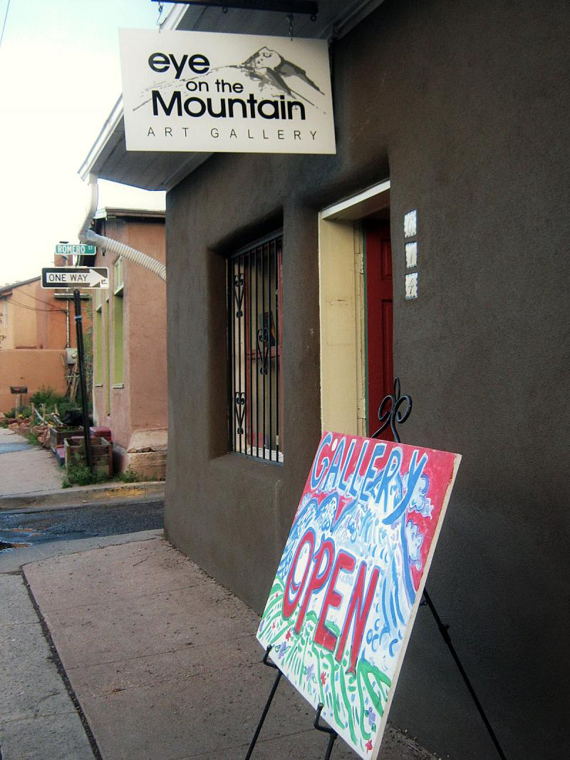 Santa Fe Art Gallery, Eye on the Mountain Art Gallery, Railyard Art Gallery