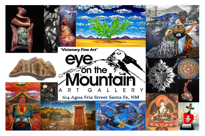 Santa Fe Art Gallery, Eye on the Mountain Art Gallery, Visionary Art, Railyard