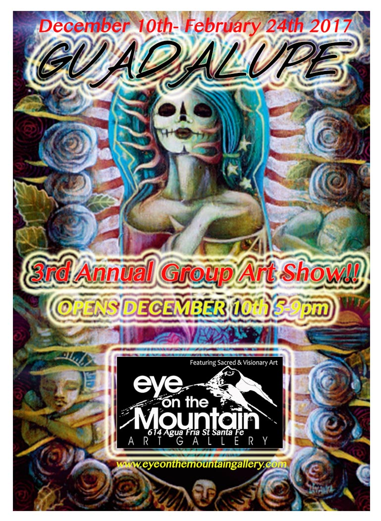 Eye on the Mountain Art Gallery, Guadalupe Group Art Show, Santa Fe Art Gallery