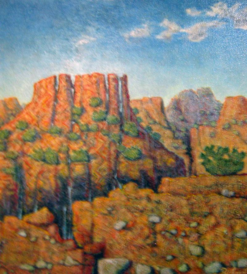 Eye on the Mountain Art Gallery, Santa Fe, Art Gallery, Richard Oson