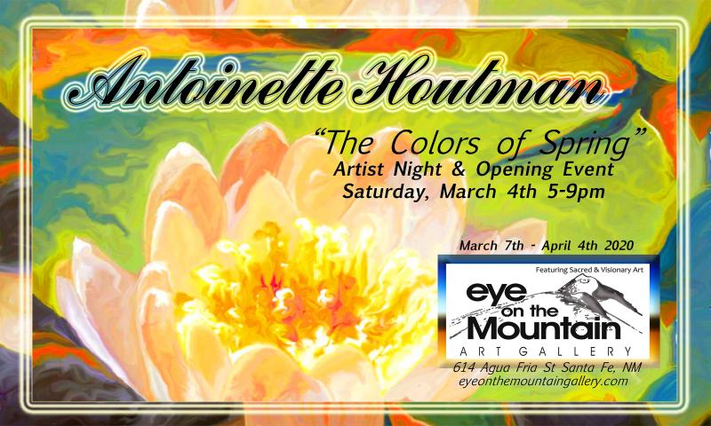 Toni Houtman, Santa Fe Art Gallery, Art Event, Eye on the Mountain Art Gallery